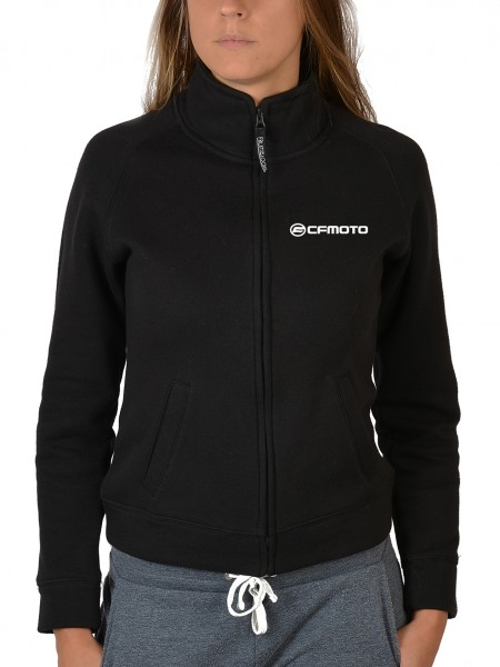 Damen Zip Sweater mit Logo