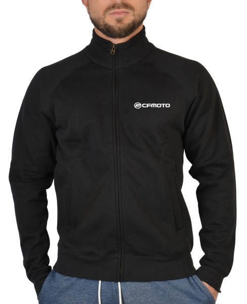 Herren Zip Sweater mit Logo