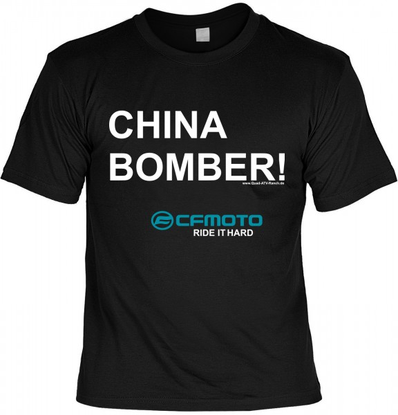 T-Shirt China Bomber!