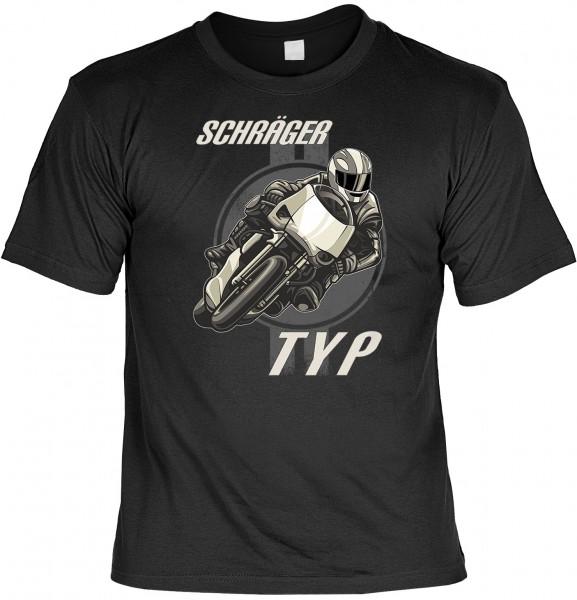 Biker T-Shirt: Schräger Typ