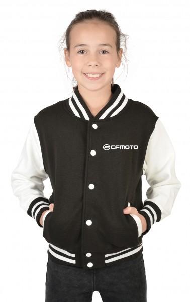 Mädchen College Jacke mit Logo
