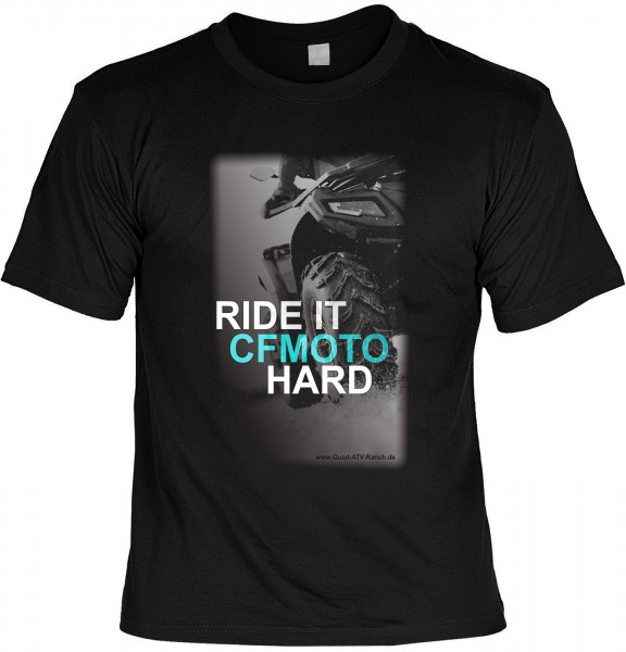 T-Shirt RIDE IT CFMOTO HARD