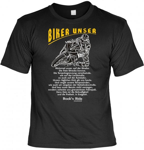 Biker T-Shirt: Biker unser